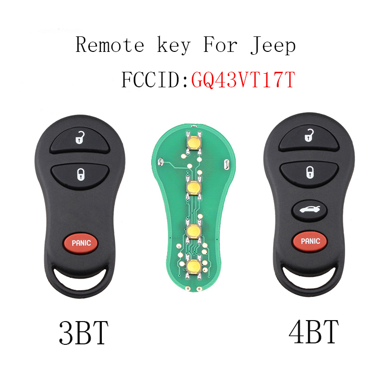 Replacement For 2001 2002 2003 2004 2005 2006 Dodge Stratus Key Fob Shell Case