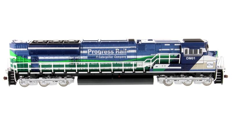 DM85534 1: 87(EMD) SD70ACe-T4 Locomotive в голубого и зеленого цветов