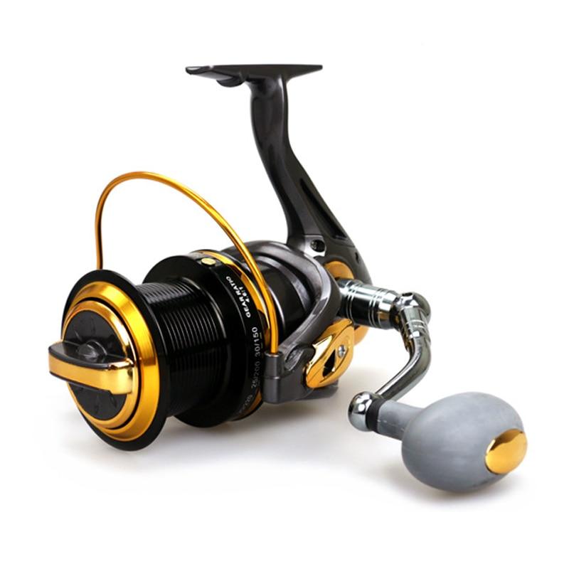 купить 13BB 4.6:1 Surf Casting Reels TF8000 TF9000 Long Cast Spinning Fishing Reel Sea Reels Salt Water Long Shot Wheel по цене 2840.26 рублей