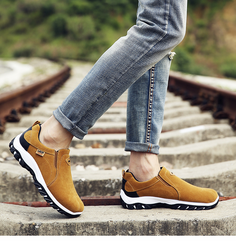 HTB1hb1ravjsK1Rjy1Xaq6zispXaO VESONAL Spring Summer Slip-On Out door Loafers Sneakers For Men Shoes Breathable Suede Male Footwear Walking comfortable