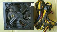 YUNHUI induestry ETH ZCASH ШАХТЕР Золото МОЩНОСТЬ 1300 Вт kenwei 1300 Вт BTC питания для RX 470/570 RX480/580 6 GPU КАРТЫ