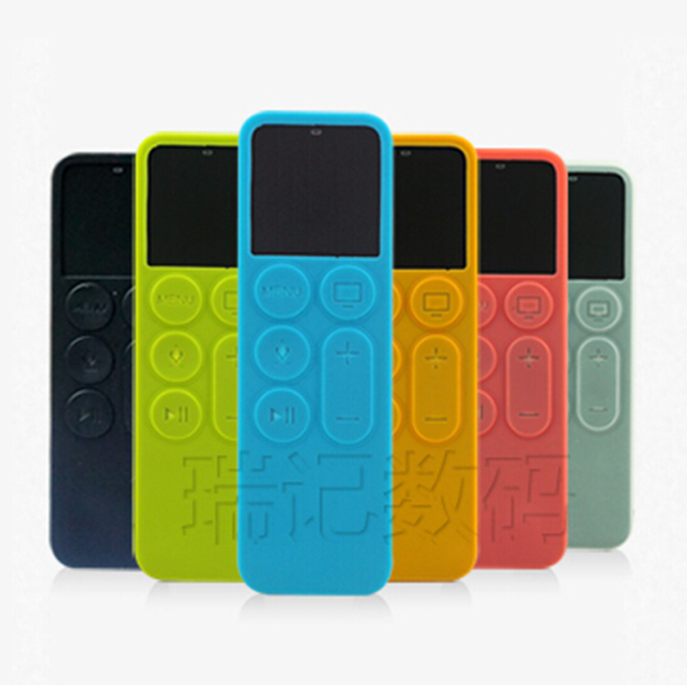 2015 Fashion New Silicone Protective Cover Case For Apple TV 4th Generation Remote Controller For Apple TV 4 Siri Remote Cases ...