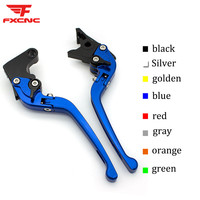 For Yamaha YZF R1 R1M R1S 2015 2018 3D Aluminum Adjustable Motorcycle Folding Brake Clutch Levers Set For YZF R6 2017 2018