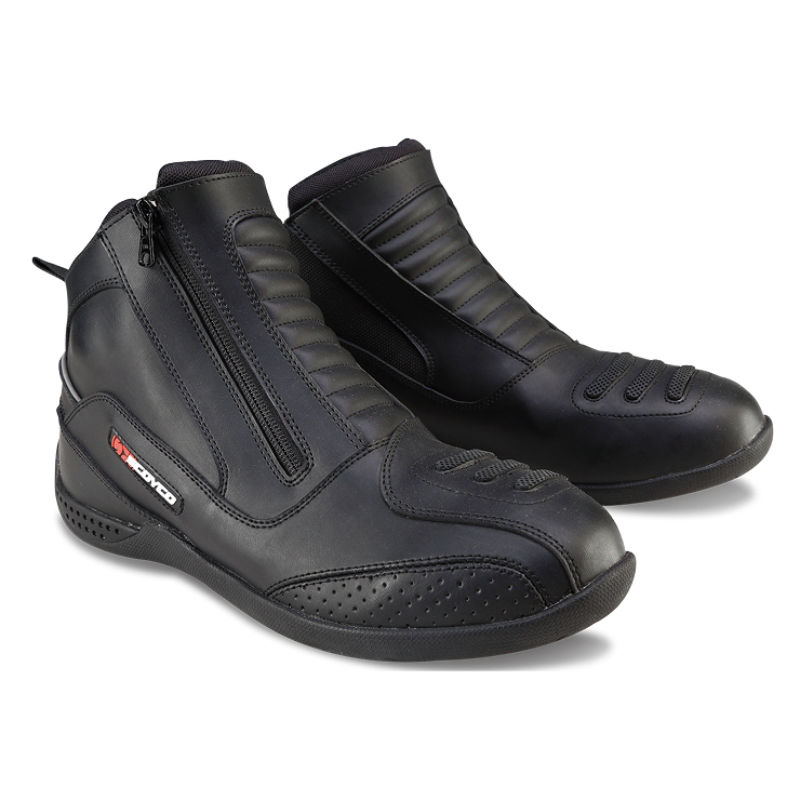 SCOYCO MBT002 Moto Racing Leather Motorcycle Boots Shoes Motorbike Riding sport road SPEED professional botas Men Women Black scoyco mbt002 motorcycle bicycle men s leather short boots black size 44