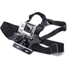 Adjustable Chest Strap Belt Body Tripod Harness Mount for Gopro Accessories  For Gopro Hero 5 4 3+2 1 for SJCAM Camera