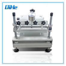Низкая цена SMT производственный трафарет принтер, трафаретная печатная машина припой принтер QH3040