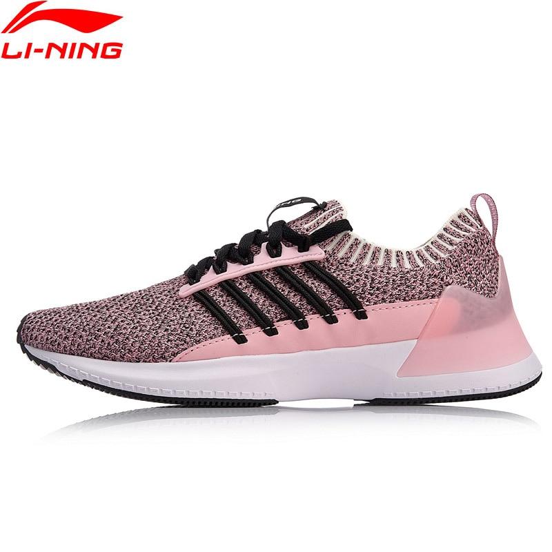 Li Ning Women FREE RUNNER I Classic Lifestyle Shoes LI NING CLOUD LITE Mono Yarn Sport