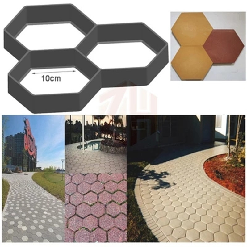 Efficient Diy Garden Concrete Paving Mold For Pavement Walkways For Garden Path Paving Mold Pathmate Shovel De Furniture