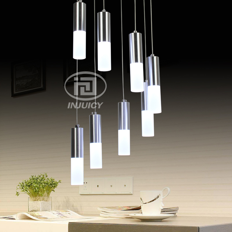 Simple modern circular acrylic led pendent lamp high definition simple modern circular acrylic led pendent lamp high definition restaurant cafe staircase decorative pendant lamp in pendant lights from lights lighting mozeypictures Images