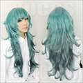 80CM High Quality Heat Resistant Sen Takatsuki Eto Wig Tokyo Ghoul Cosplay Wigs Gradient Color Sexy Synthetic Anime Hair Wigs