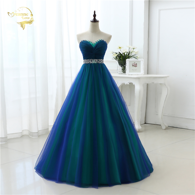 New Design A Line Sexy Fashion Long Prom Dresses 2019 Sweetheart Soft Tulle Vestidos de Festa Party Hot Sale Prom Dress OP33081