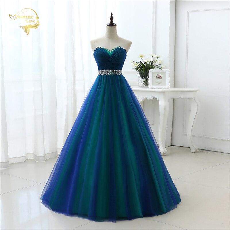 Nouveau Design une ligne Sexy mode longues robes de bal 2019 chérie doux Tulle robes de fête offre spéciale robe de bal OP33081