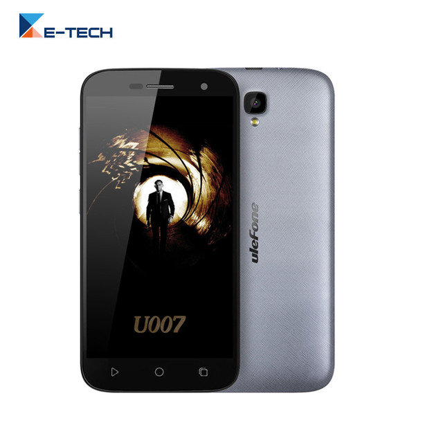 Original Ulefone U007 Android 6.0 MTK6580A Quad Core SmartPhone 5.0 Inch 1280*720 HD 1GB RAM 8GB ROM 8MP Dual SIM Mobile Phone