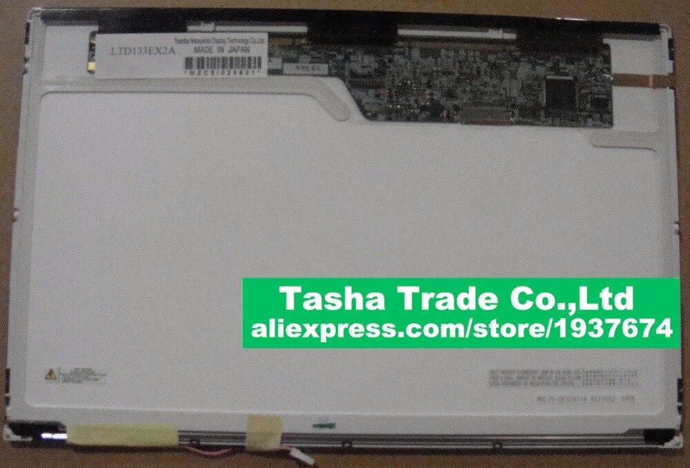 LTD133EX2A 20PIN LCD Screen LED Display 1280*800 WXGA 1 CCFL for Sony for sony vpcy2 pcg 51111t 41219t 41217t 51311t 13 3 wxga laptop led lcd screen