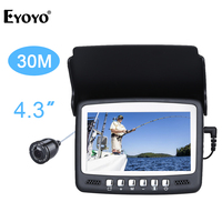 Eyoyo Original 30M Underwater Ice Video 1000TVL Fishing Camera Fish Finder 4 3 LCD Monitor 8