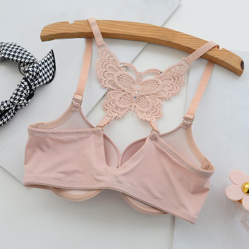 15f0e50378 2019 BONJEAN Women Fashion Underwear Lace Bralette Bras Adjustable ...