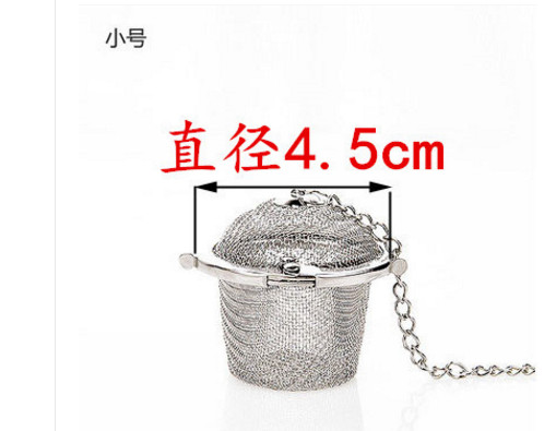 Kitchen cooking tool 304 stainless steel seasoning bag