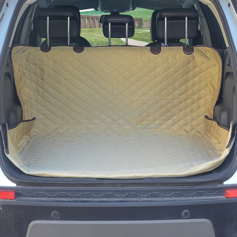 Car Pet Seat Cover Trunk Mat Tarpaulin Waterproof Oxford Cloth Dog Cat Back Seat Covers Rear Auto Pad Car Protection Blanket 3