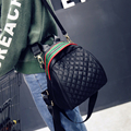 vintage casual hotsale Diamond lattice backpack fashion chain shoulder bag ofertas famous designer brand Diamond lattice