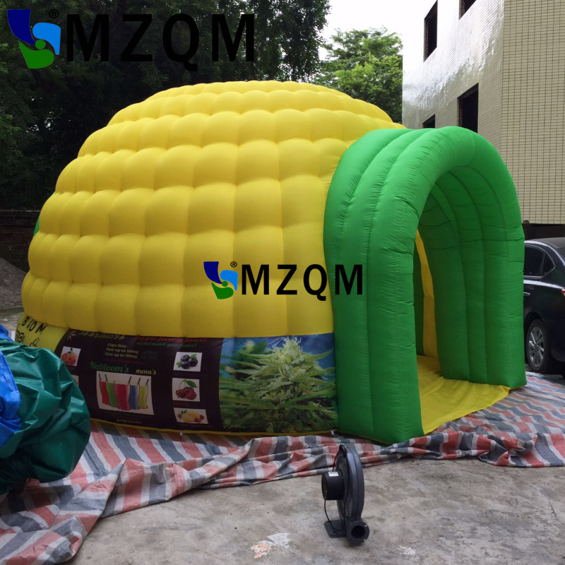 MZQM  Inflatable Luna tent for Trade show Event, Party, Promotion,Exhibition,White portable outdoor dome inflatable bar trade show exhibition tent commercial advertising inflatable tent house for event china factory outdoor inflatable igloo tent