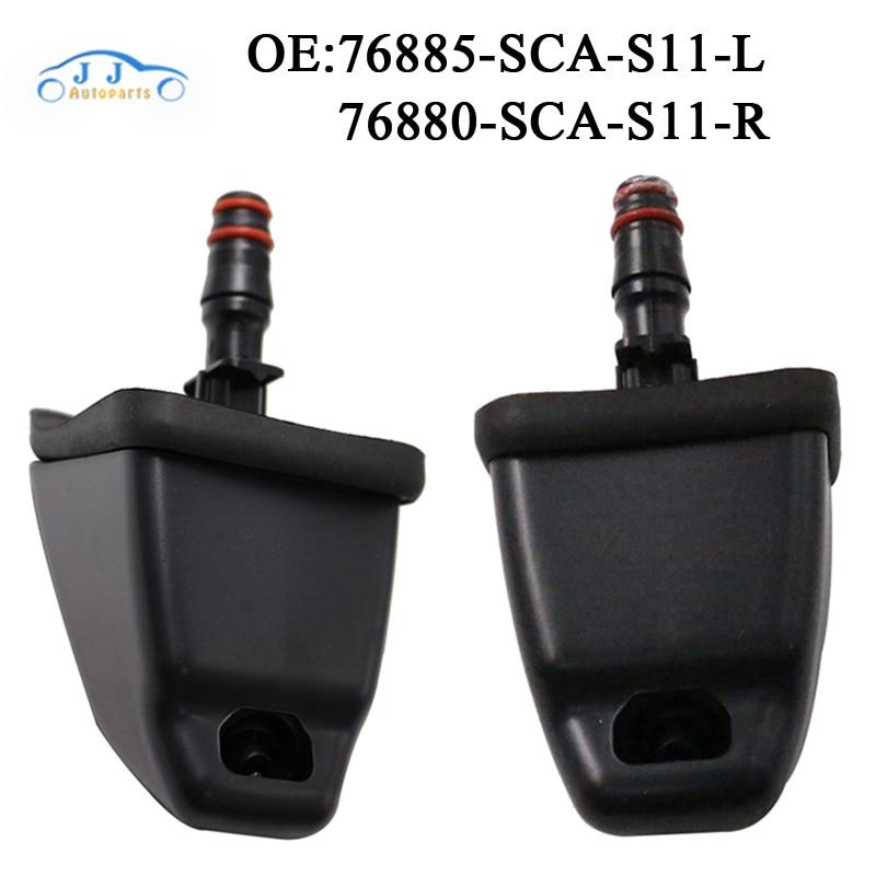 Alta Qualidade New Left & Right Side Farol Farol Washer Bico Para HONDA CRV 2002-2006 76885-SCA-S11 76880-SCA-S11