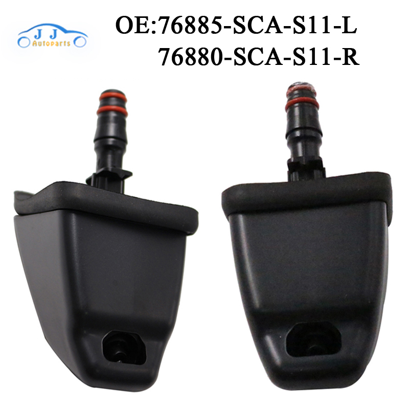 High Quality New Left & Right Side Headlight Headlamp Washer Nozzle For HONDA CRV 2002-2006 76885-SCA-S11 76880-SCA-S11