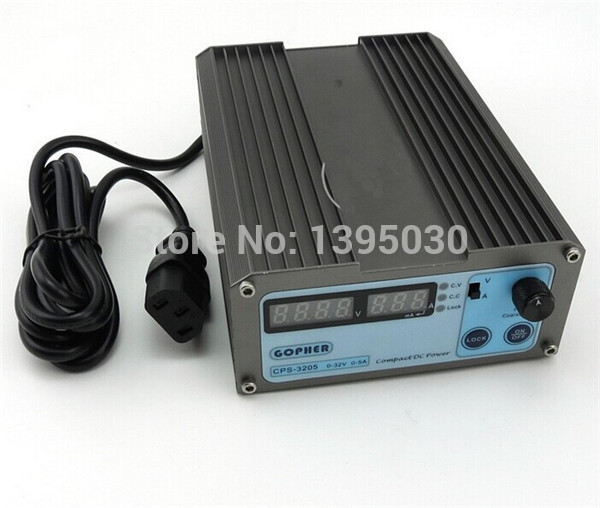 Precision Compact Digital Adjustable DC Power Supply OVP/OCP/OTP low power  110V-220V CPS-3205 1 pc cps 3220 precision compact digital adjustable dc power supply ovp ocp otp low power 32v20a 220v 0 01v 0 01a