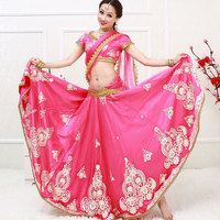 India Anna Indian Bollywood dance dancing performance Sari veil robe dress top skirt pants trousers costumes clothes wear