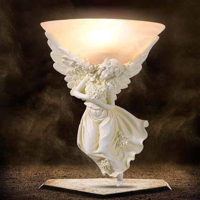 Led Wandspiegel Lampe Aangel Vintage Schlafzimmer Wandleuchten 220 v ...