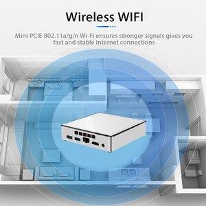 Image 3 - Mini Pc Intel Core I7 5500U 4500U Windows 10 DDR3L Ram Msata Ssd 300Mbps Wifi Gigabit Ethernet 4Xusb hdmi Htpc Kantoor Computer