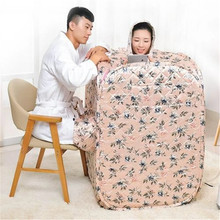2019 New Style Portable Steam Sauna SPA 4L 2000W 220V Weight Lose Steam Life Steam Shower RoomTherapy Detox Wet Sauna Cabin steam shower room steam sauna portable sauna spa lose weight 2l 1000w 110v 220v steam life cabin portable sauna therapy detox