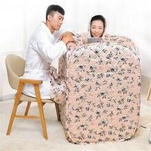 Портативная Паровая баня спа салон 4 л 2000 Вт 220 В для похудения
