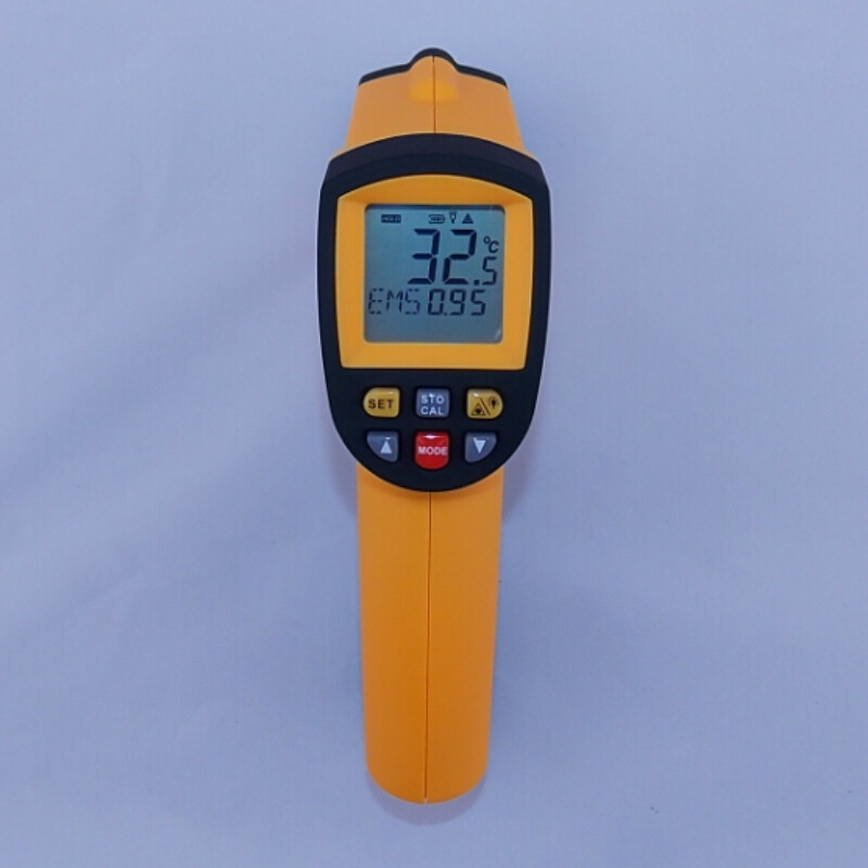 Digital IR infrared thermometer GM700 Non contact infrared thermometer laser thermometer gun -50~700C  цены