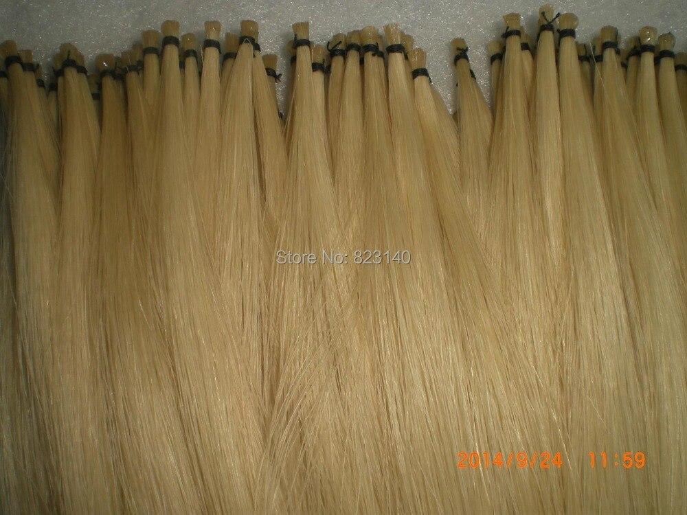 25 hanks white bow hair 6 grams/hank 78cm length unbleached stallion horse hair 50 hanks quality mongolia stallion bow hair 6gram hank in 32 inches