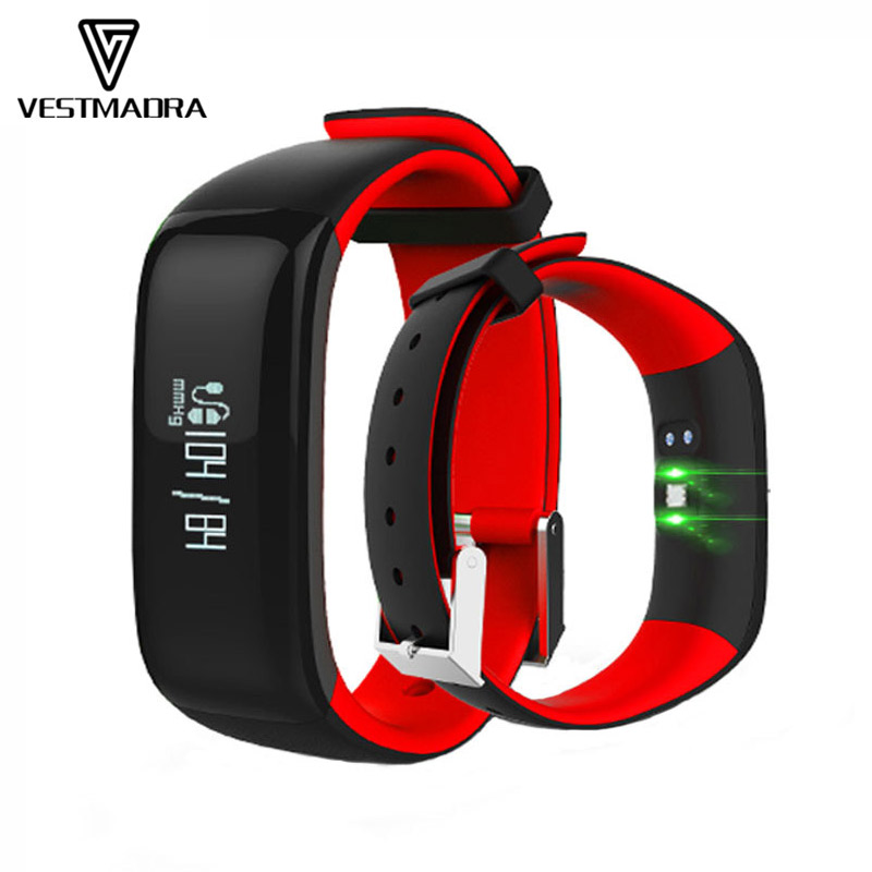 P1 Smart Wristband/Watch for Android/iOS