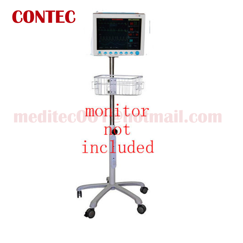 Mobile trolley  Cart Roll CONTEC BRAND Rolling Stand wheel for ICU Patient Monitors CMS6000, CMS6500, CMS7000, CMS8000, CMS9000 ashok yadav r d askhedkar and s k choudhary synthesis and simulation of trolley for patient handling