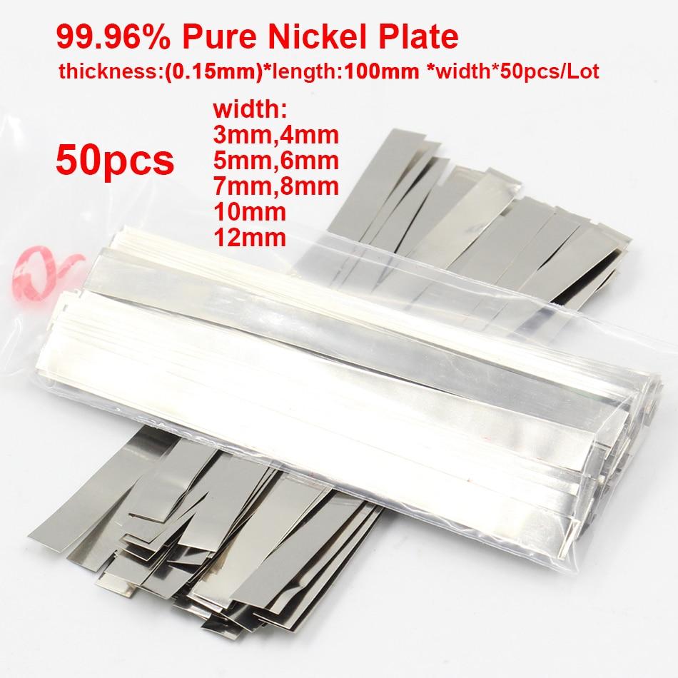 0,15mm X 100 99.96% Reinem Nickel Platte Band Streifen Blätter Für Batterie Spot Schweißen Maschine Schweißer Ausrüstung