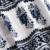 SCQP Azul Algodão Estampado Floral Rompers Jumpsuit Womens Bordados de Flores Sem Encosto Fora Do Ombro Macacão Verão Sexy Praia 2016