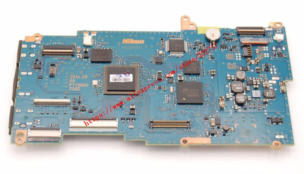 New Togo Main Board/Motherboard/PCB repair Parts for Nikon D7200 SLR new main circuit board motherboard pcb repair parts for sony dsc rx100m2 rx100ii rx100 2 digital camera