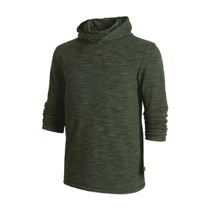 Image 5 - Мужская тактическая флисовая однотонная толстовка с капюшоном, мужская маска хомут Slipknot, черный пуловер с высоким воротником, ветровка