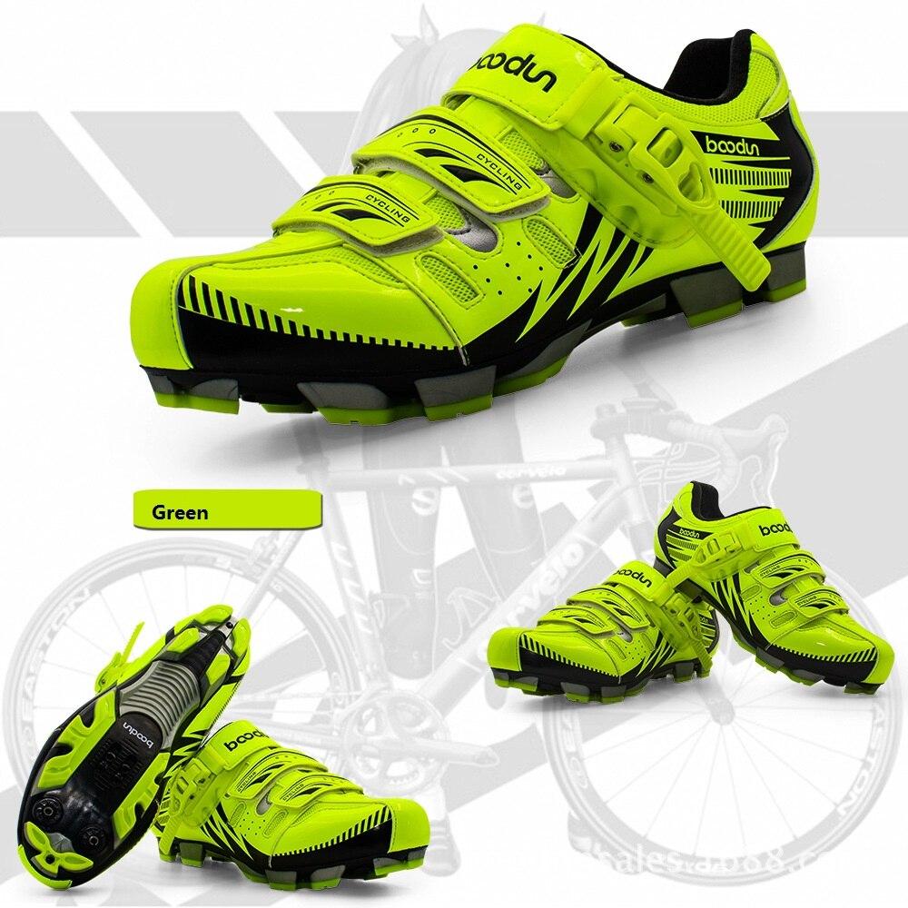 Кроссовки Новый велосипед обувь мужская или Женская mountain Велосипеды обувь дышащая противоскольжения замок обувь MTB- слип велосипед обувь