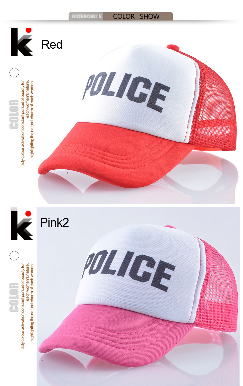 ce105e828a145c Summer Mesh Baseball Cap For Boys And Girls Lovely Colorful Printing ...