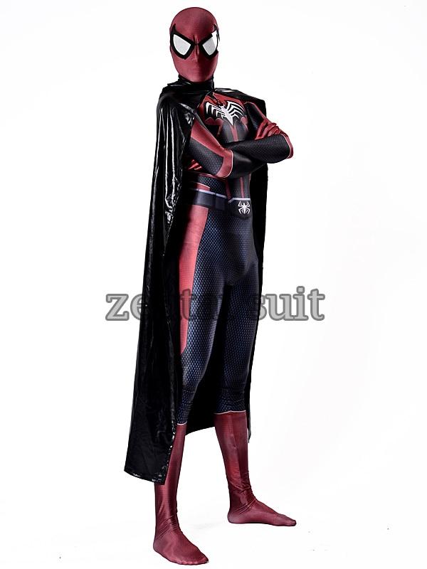 Batman Costume 3D Printing Fullbody Spandex Batman Zentai Suit For Adult//Kids