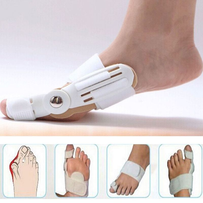 Большой палец бурсит большого пальца стопы Шинная Выпрямитель Toe Корректор ног боли про ортопедические поставок педикюр ежедневный уход за...