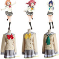 Uniformes Escolares Amor Vivo Sol LoveLive! aqours takami chika love live gilr dress lolita uniforme escolar cosplay traje