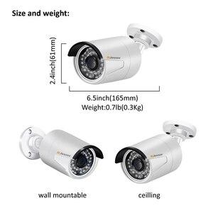 Image 2 - Jennov 4CH 5MP DVR AHD Kamera CCTV Set Outdoor Kamera Sicherheit System IP Video Überwachung Kit P2P HD Nachtsicht h.264 IR Cut