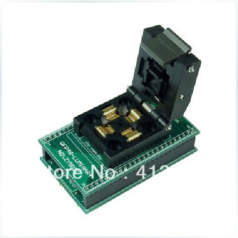 Ucos private ZY502C IC burn test socket adapter QFP48 DIP48