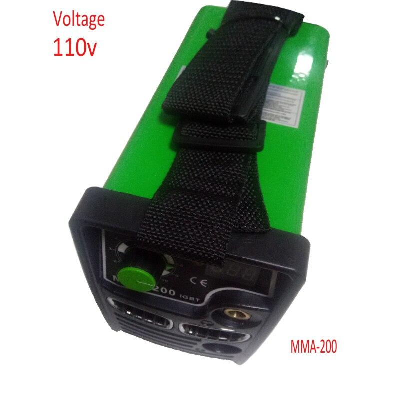 Machines électriques de soudure de linverseur 110 V 127v digbt, Mini soudeurs portatifs darc de MMA-200 de cc