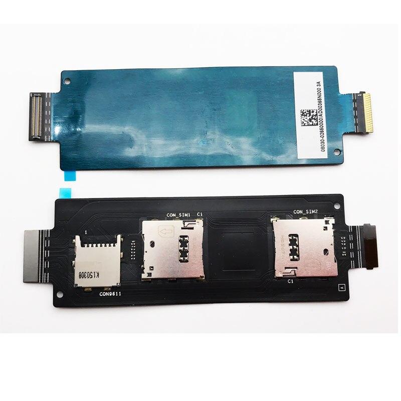 New Sim Card Slot Socket Holder Flex Cable For ASUS Zenfone 2 ZE550ML ZE551ML Sim Reader Flex Ribbon Board