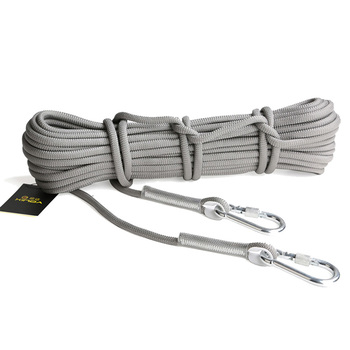 XINDA 10M Professional Rock Climbing Cord Outdoor Hiking Accessories Rope 9.5mm Diameter 2600lbs High Strength Cord Safety Rope 6